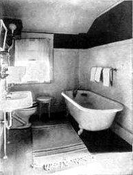 Lisa 39 s nostalgia cafe 1910s bed bath for 1915 bathroom photos